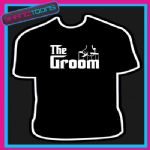 THE GROOM STAG DO PARTY WEDDING GIFT TSHIRT MENS WOMENS KIDS SIZES